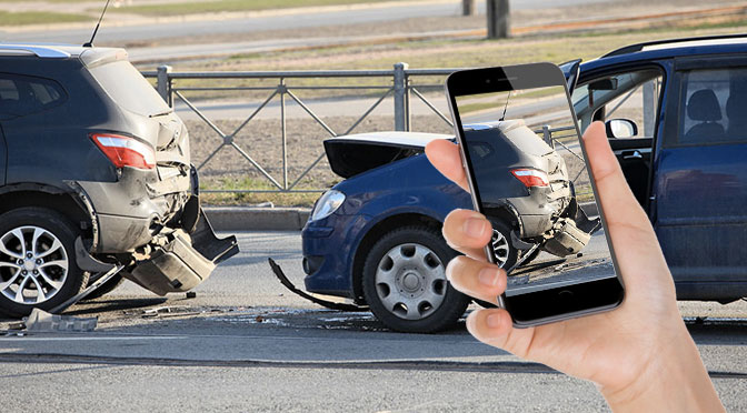A Photo is Worth a Thousand Words... Especially after a Car Wreck